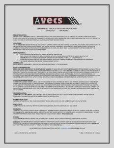 AVECS RE-ACT DATA SHEET