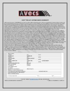 AVECS Warranty